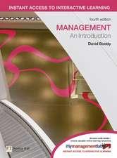 Management plus MyLab Access Code