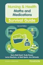 Reid-Searl, K: Maths and Medications
