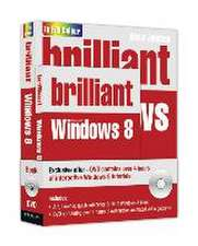 Johnson, S: Brilliant Windows 8 Book and DVD Pack