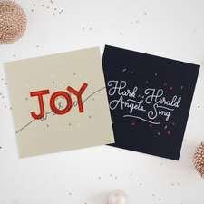 Christmas Carols 10-Pack Christmas Cards