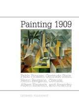 Painting 1909 – Pablo Picasso, Gertrude Stein, Henri Bergson, Comics, Albert Einstein, and Anarchy