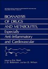 Bioanalysis of Drugs and Metabolites, Especially Anti-Inflammatory and Cardiovascular