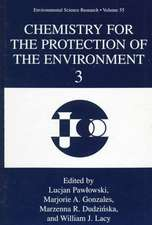 Chemistry for the Protection of the Environment 3