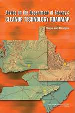 Advice on the Department of Energy's Cleanup Technology Roadmap:  Gaps and Bridges