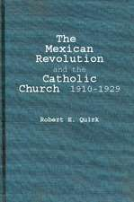 The Mexican Revolution and the Catholic Church, 1910-1929:  An Examination of Some Aspects of University Selection in Britain