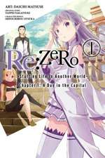 Re ZERO Starting Life in Another World Volume 1 (manga)