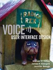 Voice User Interface Design:  Rhet Brf W/MLA& LM Writrs Jrnl
