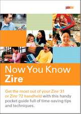 Overton, R: Now You Know Zire