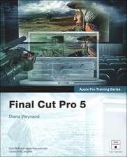 Apple Pro Training Series:Final Cut Pro 5
