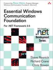 Essential Windows Communication Foundation:  For .NET Framework 3.5