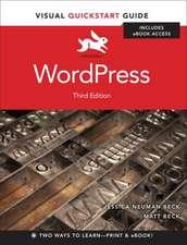 WordPress with access code:  Visual QuickStart Guide