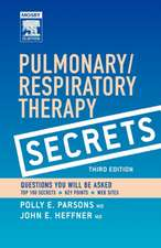 Pulmonary/Respiratory Therapy Secrets: With STUDENT CONSULT Online Access