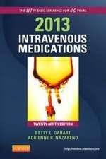 Intravenous Medications