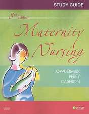 Study Guide for Maternity Nursing - Revised Reprint