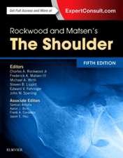 Rockwood and Matsen's The Shoulder