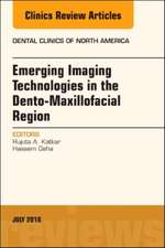 Emerging Imaging Technologies in Dento-Maxillofacial Region, An Issue of Dental Clinics of North America