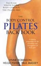 Robinson, L: Pilates Back Book