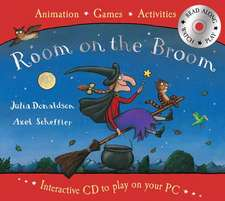 Room on the Broom Book and Interactive CD: 0-5 ani