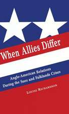 When Allies Differ: Anglo-American Relations during the Suez and Falklands Crises