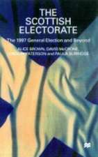 The Scottish Electorate: The 1997 General Election and Beyond