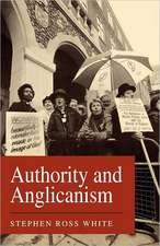 Authority and Anglicanism