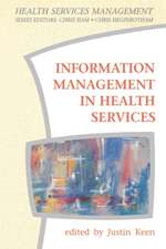 Information Management in Health Services