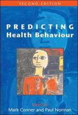 Predicting Health Behaviour