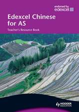 Edexcel Chinese for AS: Book 1 Teacher's Resource