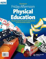 Friday Afternoon A-level PE/Sports Studies