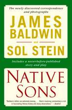 Native Sons:  Notes of a Native Son