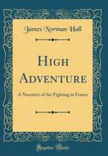 High Adventure: A Narrative of Air Fighting in France (Classic Reprint)