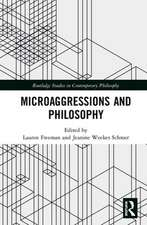MICROAGGRESSIONS AND PHILOSOPHY FR