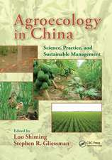 AGROECOLOGY IN CHINA SCI PRAC
