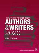 International Who's Who of Authors and Writers 2020