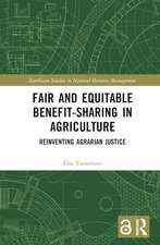 Fair and Equitable Benefit-Sharing in Agriculture (Open Access)