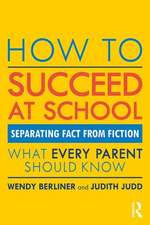 How to Succeed at School