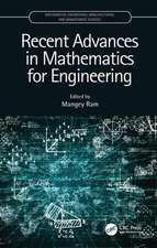 Recent Advances in Mathematics for Engineering