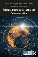 Content Strategy in Technical Communication