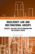 Insolvency Law and Multinational Groups