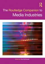 Routledge Companion to Media Industries