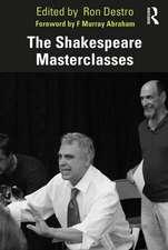 Shakespeare Masterclasses