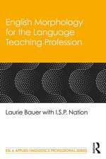 English Morphology for the Language Teaching Profession