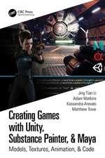 Creating Games with Unity, Substance Painter, & Maya