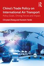 China's Trade Policy on International Air Transport