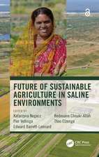Future of Sustainable Agriculture in Saline Environments