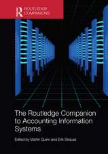 Routledge Companion to Accounting Information Systems