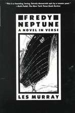 Fredy Neptune:  A Novel in Verse