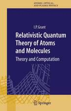 Relativistic Quantum Theory of Atoms and Molecules: Theory and Computation