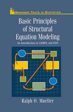 Basic Principles of Structural Equation Modeling: An Introduction to LISREL and EQS