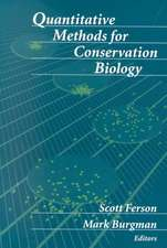 Quantitative Methods for Conservation Biology